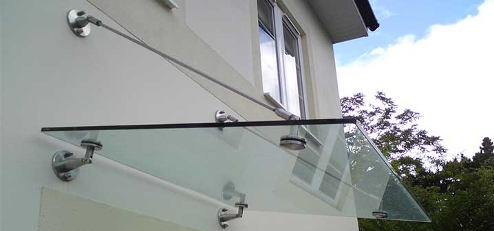 Glass Canopies Vetro Raccordi Glass Fittings And Glass